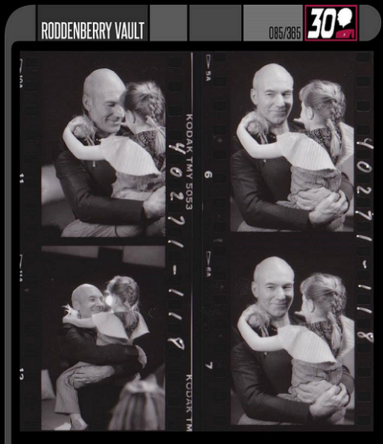 Sir Patrick Stewart And Alexandra (Behind The Scenes TNG).png